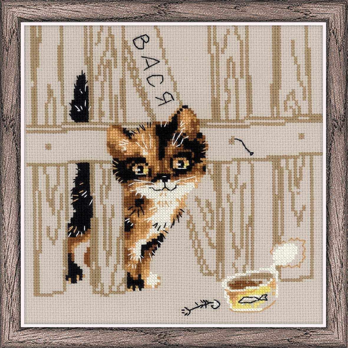Купить наборы для вышивания из коллекции «Кошки» 73