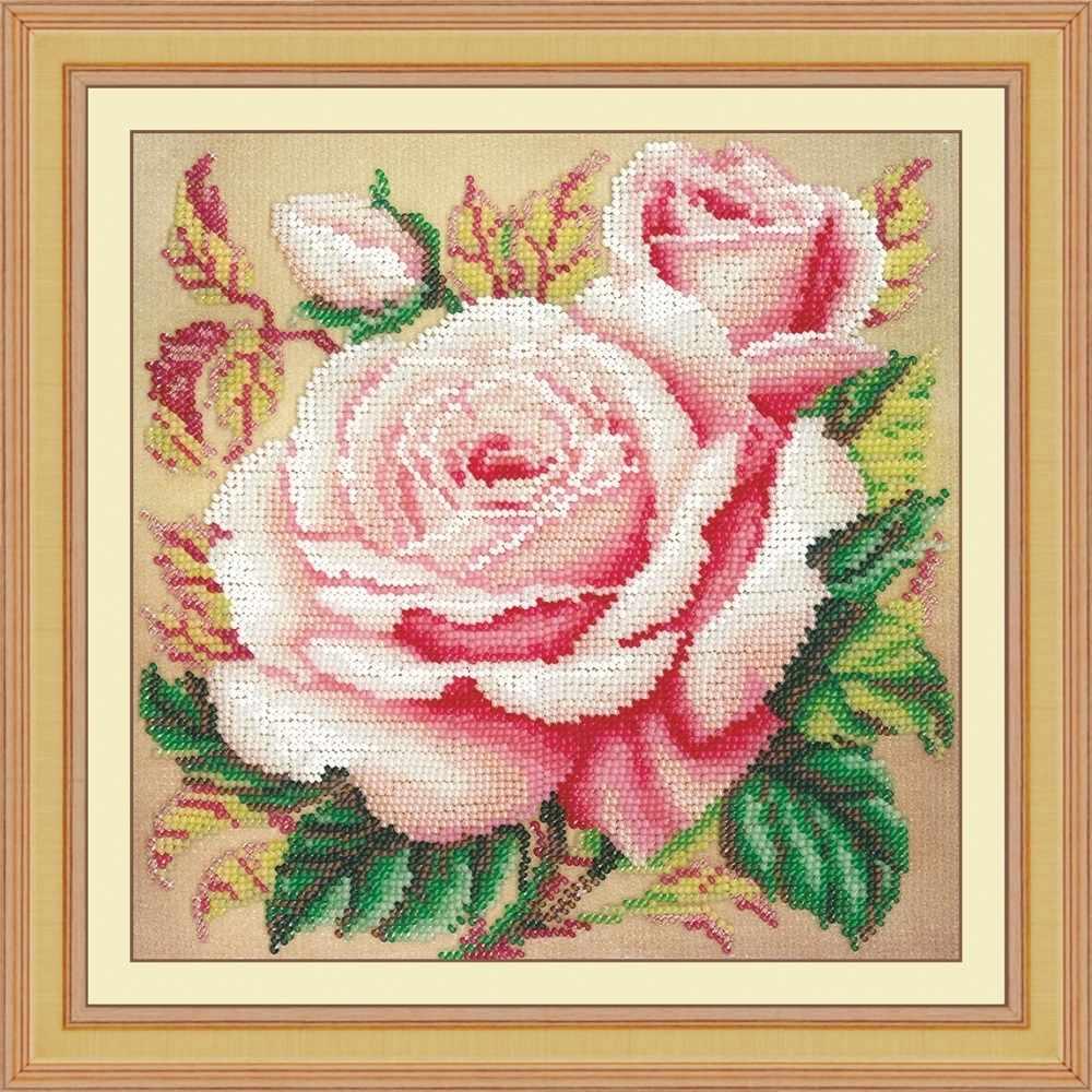 Вышивка бисером розы наборы 14