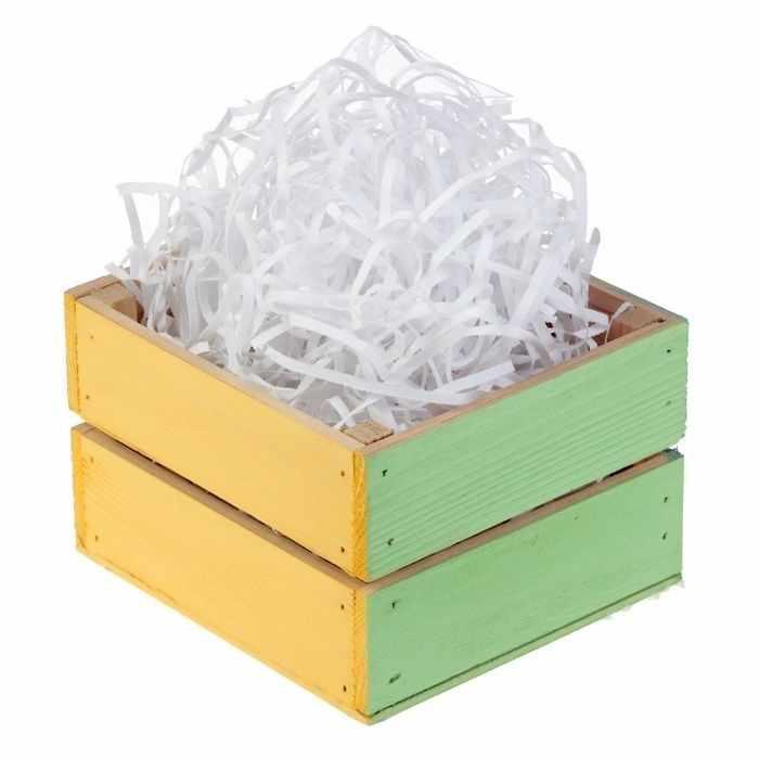 Наполнитель в коробке для подарка 2