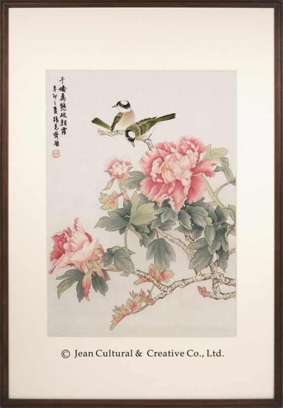 2800117 Аромат пиона - набор (Xiu Crafts)