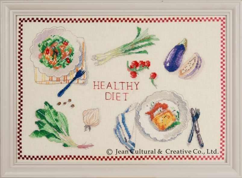 2800701 Здоровая диета - набор (Xiu Crafts)