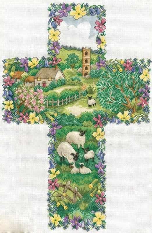 2836 Пасторальный Крест (Design Works)