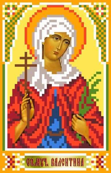 3050 Св.Валентина - рисунок на шелке (МП)