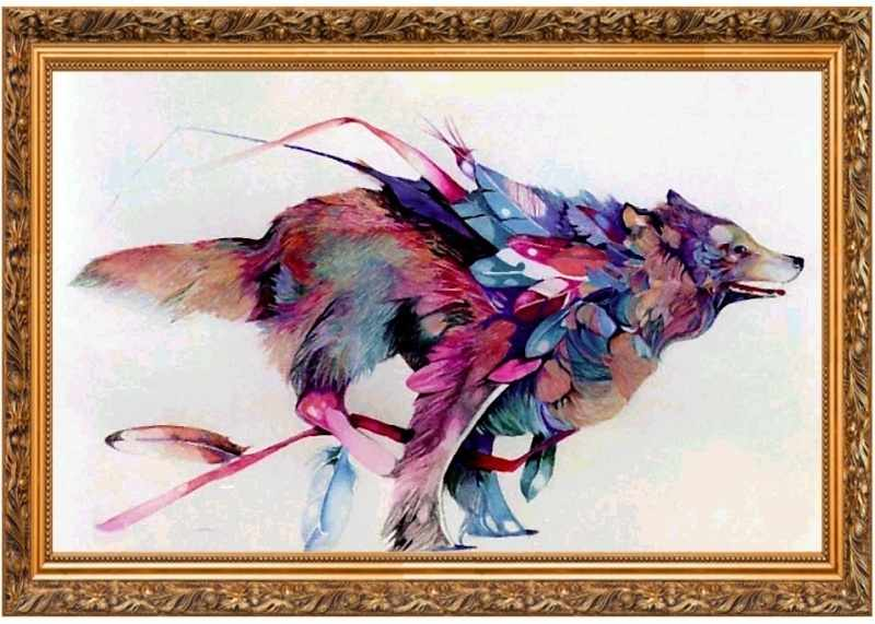 305001 Летящий волк