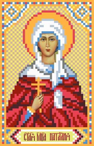 3060 Св.Наталья - рисунок на шелке (МП)