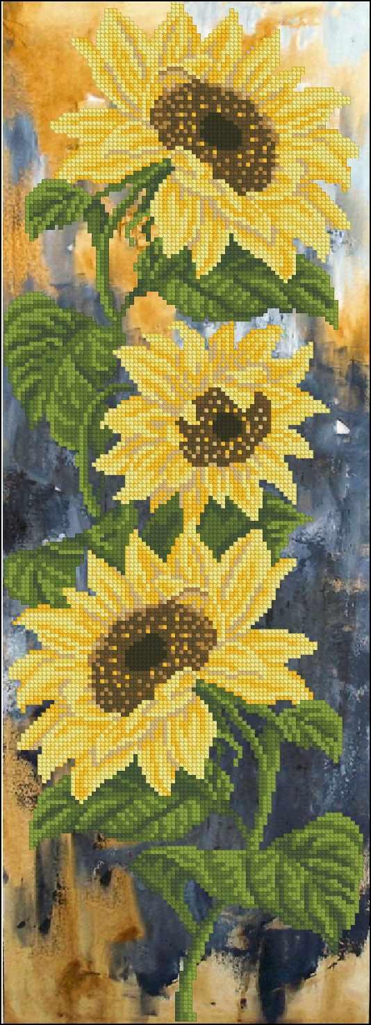 31115 Цветок солнца 1  (КТ)