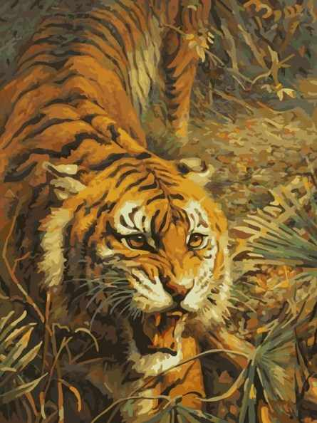 313-CG Свирепый хищник - раскраска (Белоснежка)