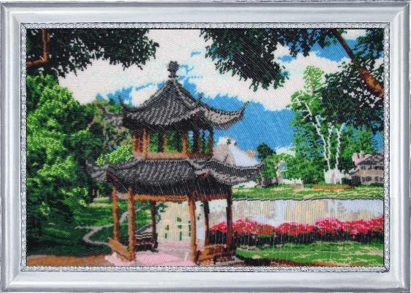 328 Китайский  садик - Butterfly
