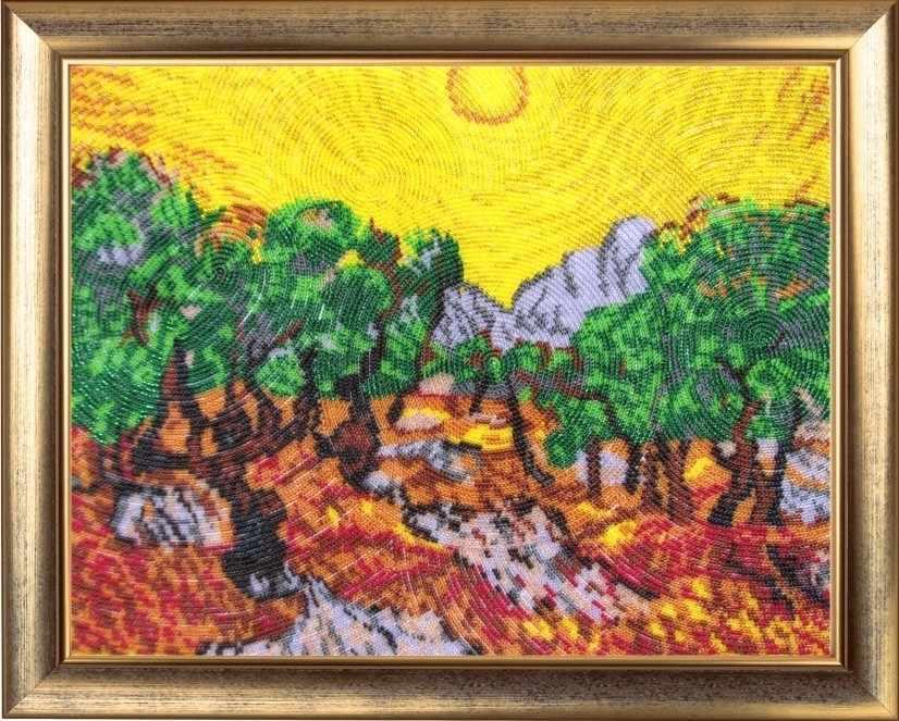 337 Солнце в оливковом саду - Butterfly