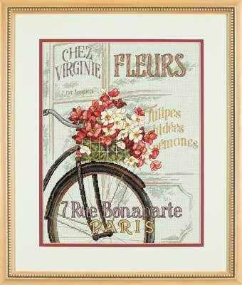 35195-DMS Парижский велосипед