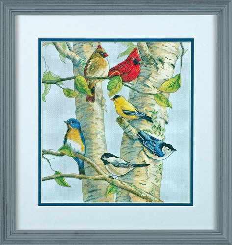 35252-DMS Птички на березе