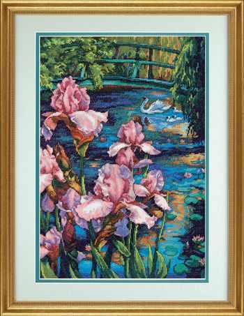 35264-DMS Iris and Swan