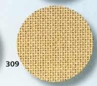3626 Jazlyn (52% хлопок+48%вискоза) цвет 309-песочный, шир140, 28ct-112кл/10см