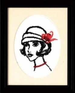 """365  """"Дама в шляпе"""" - чм"""