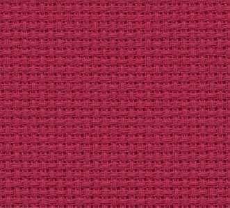 3793 Fine Aida (100% хлопок) цвет 954-красный, шир 110 18ct-70кл/10см