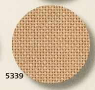 3835 Lugana (52% хлопок, 48% вискоза) цвет 5339 -бежевый, шир 170. 25ct- 100кл/10 см