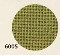 3835 Lugana (52% хлопок, 48% вискоза) цвет 6005 -табачный, шир 140. 25ct- 100кл/10 см