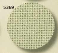 3835 Lugana (52% хлопок, 48% вискоза) цвет  5369 -св.оливковый, шир 170. 25ct- 100кл/10 см