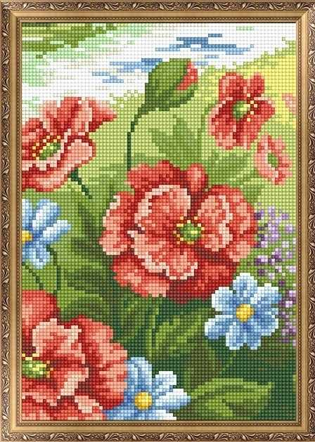 401501 Цветы - мозаика Anya