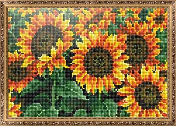 401703 Подсолнухи - мозаика Anya
