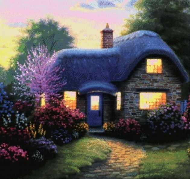 4047-14 Свет в окне (Белоснежка)