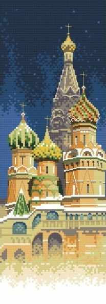 4061-14 Покровский собор (Белоснежка)