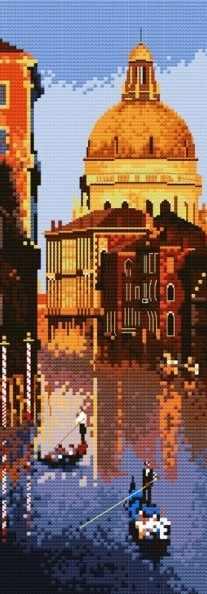 4064-14 Вечерняя Венеция (Белоснежка)