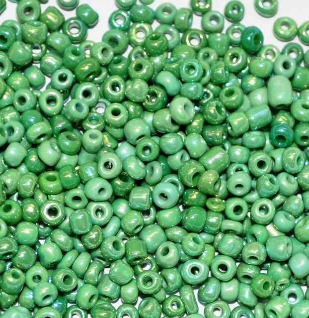 407-8GR зеленый туба 20г