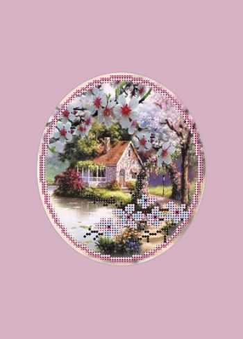41/БП Пора цветения - набор для вышивания (МП)