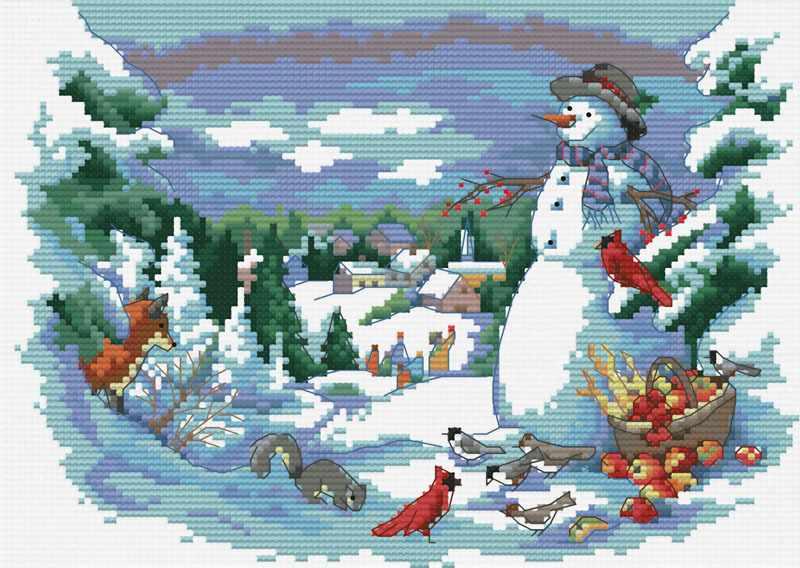 4148-14 Веселое рождество (Белоснежка)