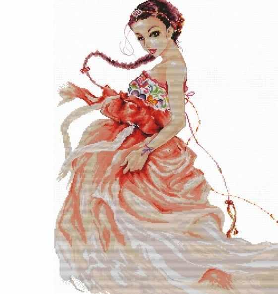 4183-14 Очаровательная танцовщица (Белоснежка)