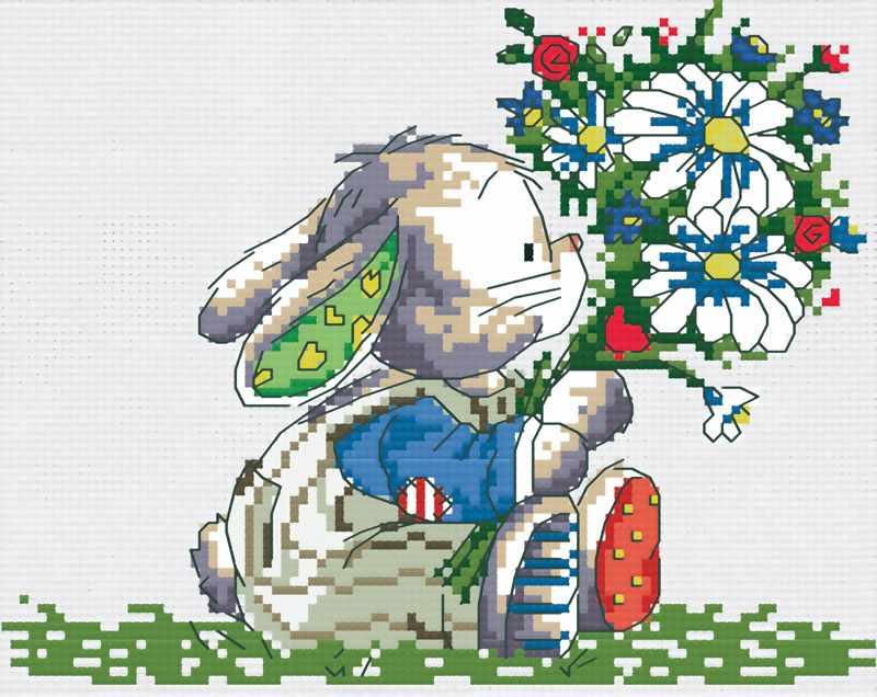 420-14 Влюбленный заяц (Белоснежка)