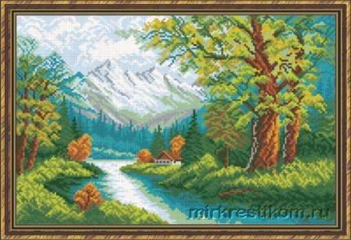 471 Горный пейзаж