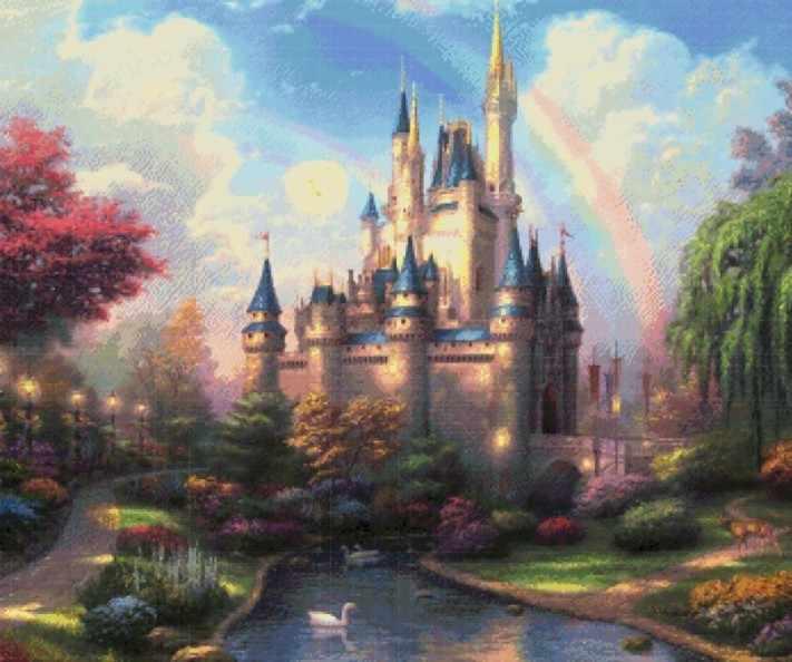 4800-14 Сказочный замок (Белоснежка)