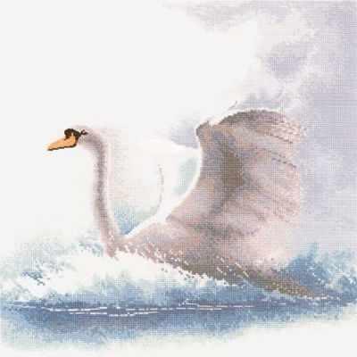 484FFSF Лебедь в полете