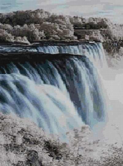 50012 Водопад - мозаика Anya