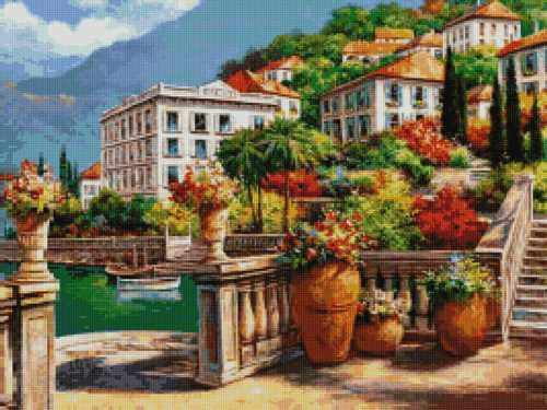 50046 Отель на побережье -мозаика Anya