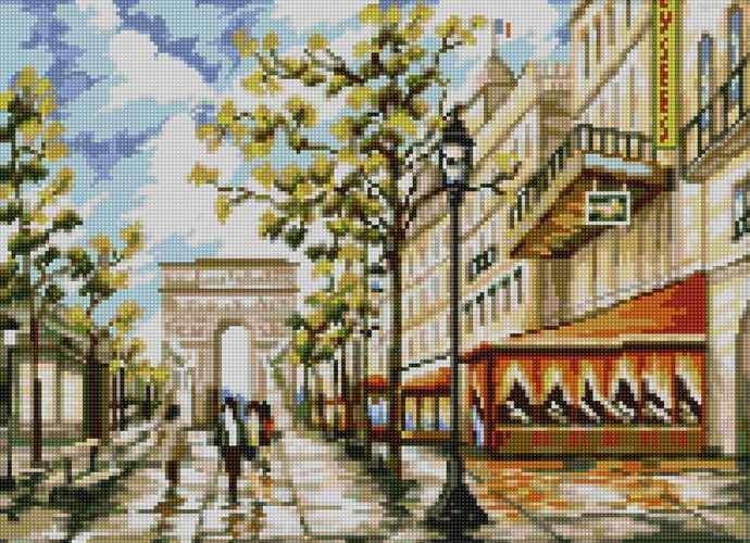 50063 Елисейские поля - мозаика Anya