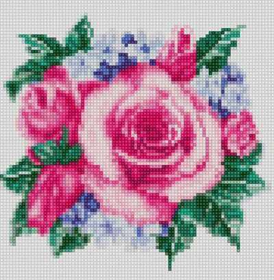 50090 Розочки - мозаика Anya