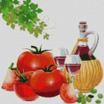50094 Вино и томаты - мозаика Anya