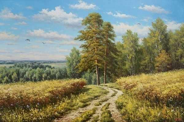 50115 Дорога в поле - мозаика Anya