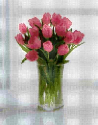 50121 Букет тюльпанов - мозаика Anya