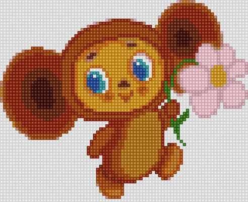 50127 Чебурашка - мозаика Anya