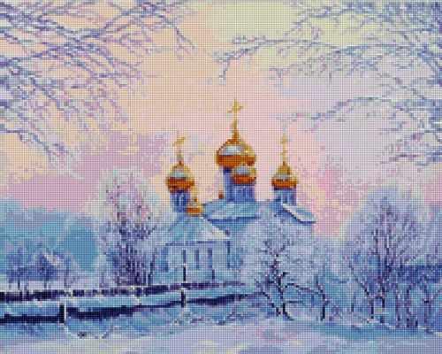 50154 Русская зима - мозаика Anya