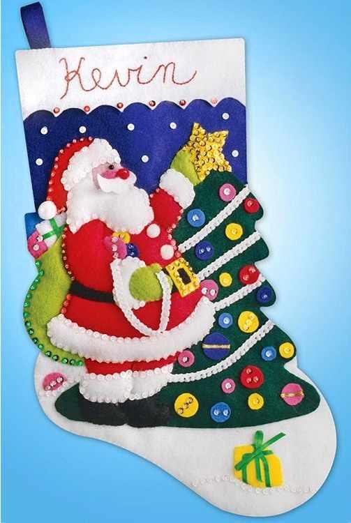5021 Нарядная елка. Рождественский сапожок (Design Works)