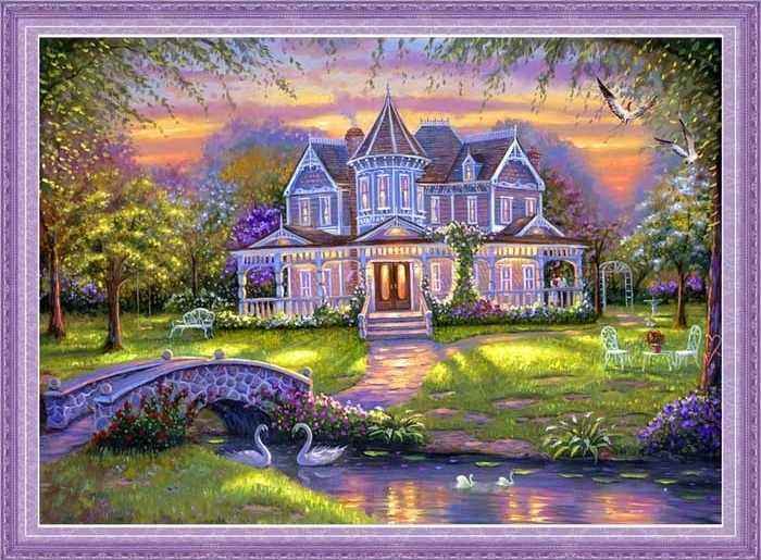 51153 мозаика 5D (Honey home)