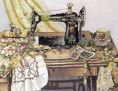 51265 Мамина швейная машина
