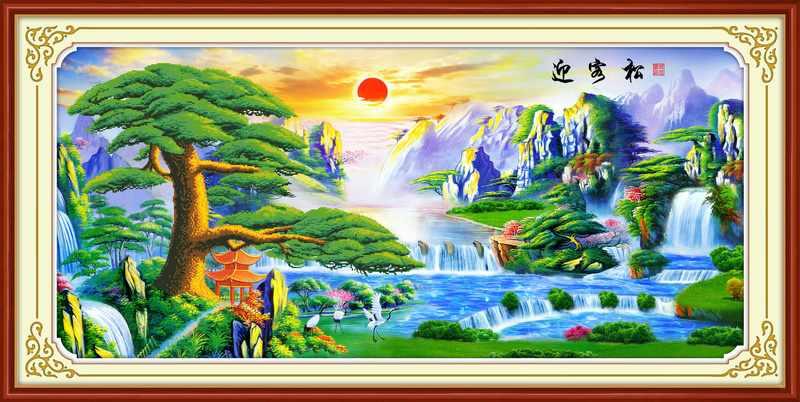 51383 мозаика 5D (Honey home)