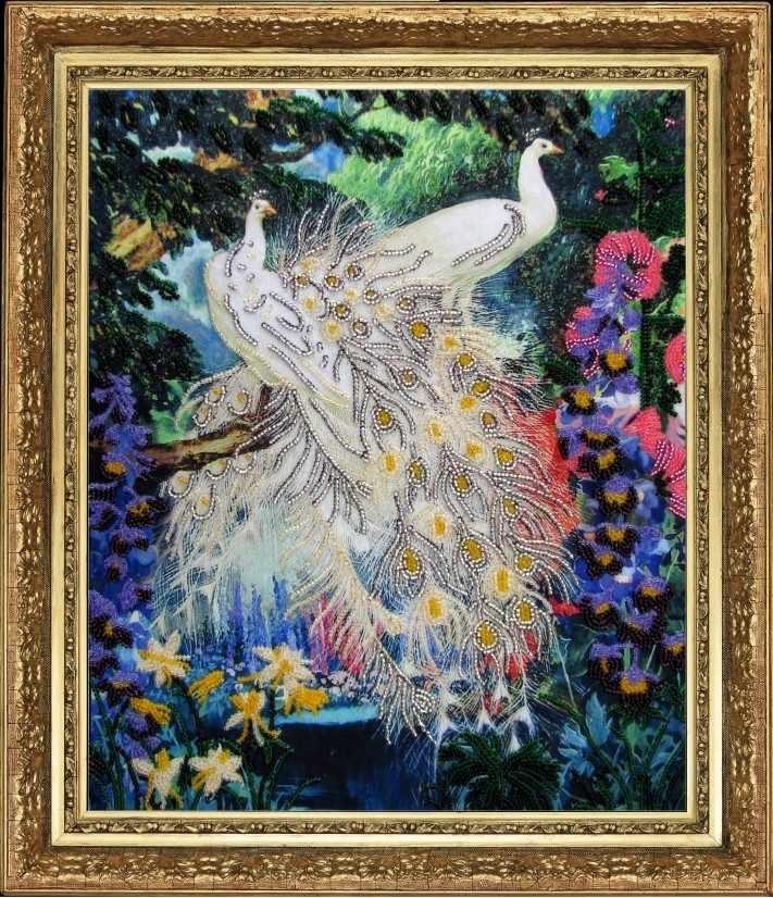 519 Королевские птицы - Butterfly