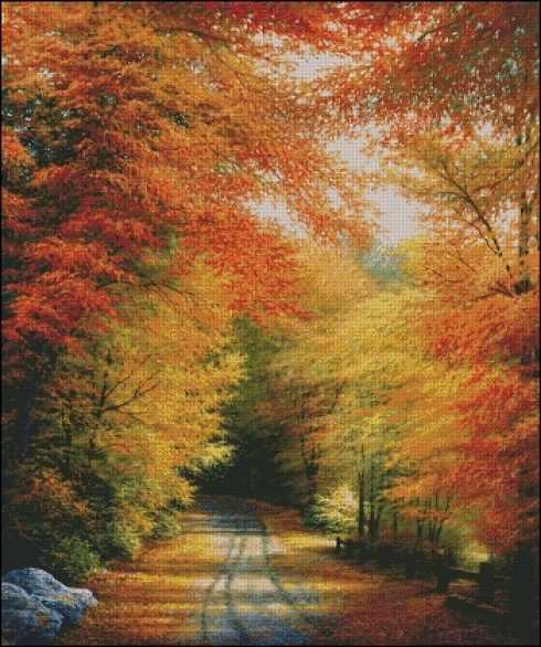 52400 Осень в новой Англии
